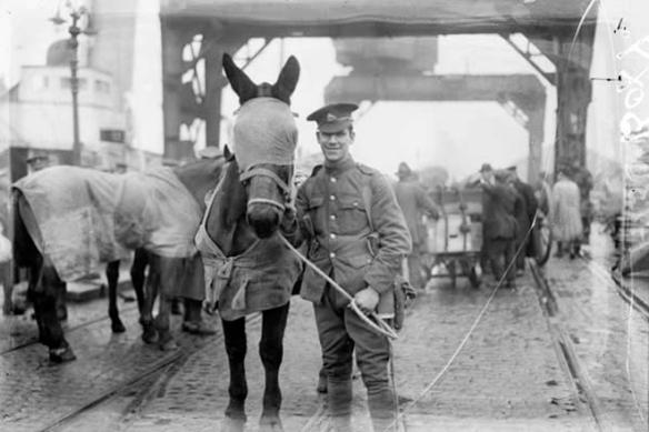 Британската кавалерия напуска Дъблин