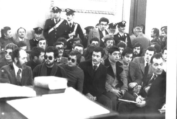 Ординовисти на подсъдимата скамейка, 1973 г.